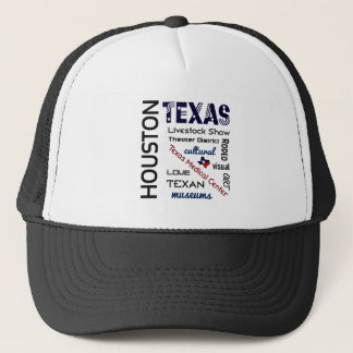 Hut Houstons Texas Truckerkappe