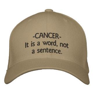 Hut - Krebs-Es ist ein Wort, nicht ein Satz