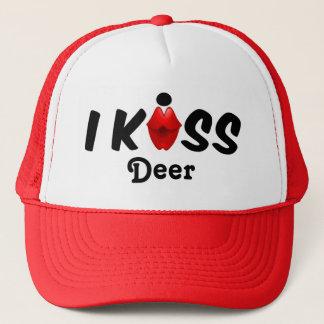 Hut-Kuss küsse ich Rotwild Truckerkappe