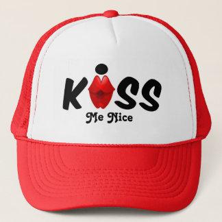 Hut küssen mich Nizza Truckerkappe