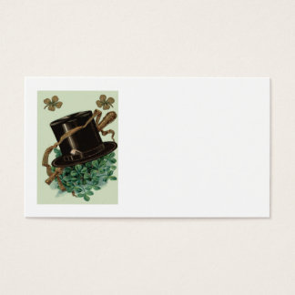 Hut-Lehm-Rohr-Kleeblattvierblättriges Kleeblatt Visitenkarte