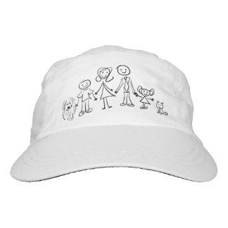 Hut - meine Familie 6 Headsweats Kappe