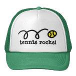 Hut mit aufprallendem Tennisballentwurf Baseball Kappe