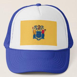 Hut mit Flagge von New-Jersey Staat - USA Truckerkappe