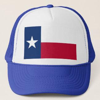 Hut mit Flagge von Texas-Staat - USA Truckerkappe
