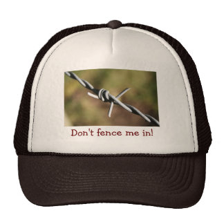 Hut mit Stacheldraht-Entwurf Baseball Mütze
