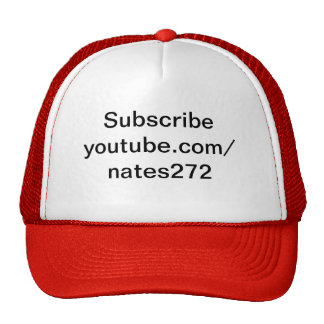 Hut Nate Fernsehen Youtube Truckercap