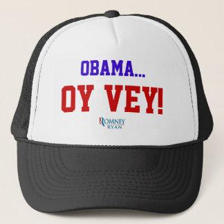 Hut Obama Oy Vey Truckerkappe