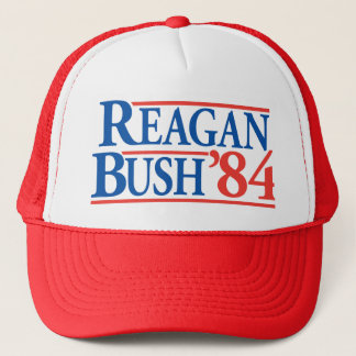 Hut Reagans Bush '84 Truckerkappe