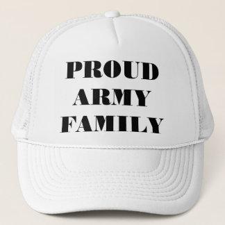 Hut-stolze Armee-Familie Truckerkappe