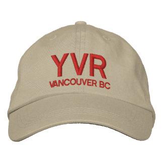 Hut Vancouvers internationalen Flughafen-(YVR) Bestickte Kappe