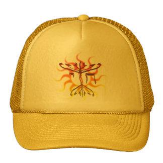 Hüte Chais Menorah Sun Netzkappen