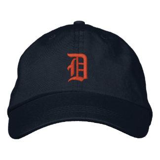 Hüte Detroits D Besticktes Baseballcap