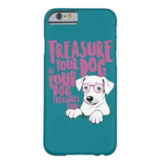 Hüten Sie Ihr Hundphonecase Barely There iPhone 6 Hülle