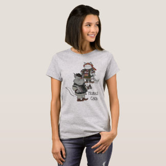 Hutsul Katzen-Ukrainer-Volkskunst T-Shirt