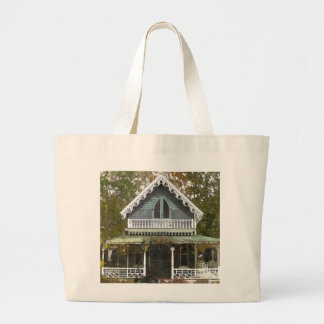 Hütte auf Martha's Vineyard Jumbo Stoffbeutel