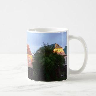 Hütte hinter den Dünen Kaffeetasse