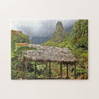 Hütte im Iao Tal-Staats-Park, Maui, Hawaii Puzzle