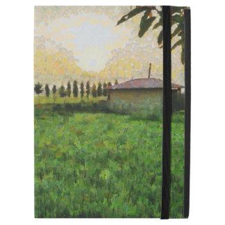 Hütte und Bauernhof