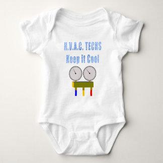 HVACTechs behalten es Cool.png Baby Strampler