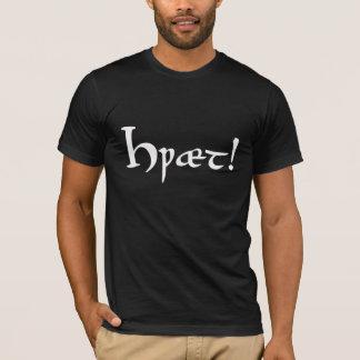 Hwæt! Beowulf alter englischer T - Shirt