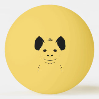 Hyäne Tischtennis Ball