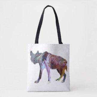 Hyänenkunst Tasche