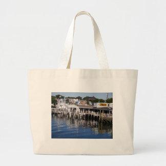 Hyannis Hafen, Cape Cod Jumbo Stoffbeutel