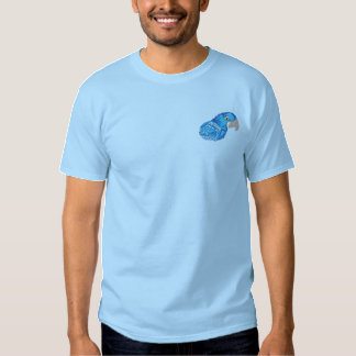 HyazintheMacaw Besticktes T-Shirt