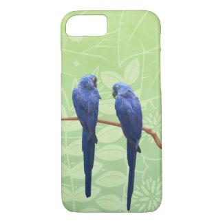 Hyazinthemacaw-Duo-Telefon-Kasten iPhone 8/7 Hülle