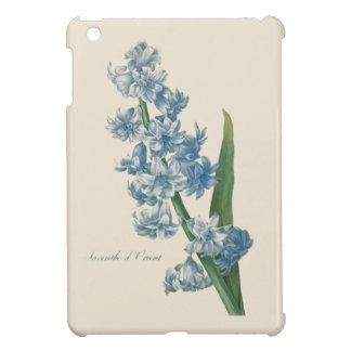 Hyazinthen-blaue Blumen-Illustration iPad Mini Hüllen