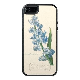 Hyazinthen-blaue Blumen-Illustration OtterBox iPhone 5/5s/SE Hülle