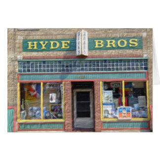 Hyde-Brüder, Fort Wayne, HEREIN Karte