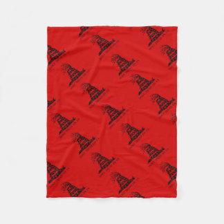 Hydra-Gadsden-Flagge Fleecedecke