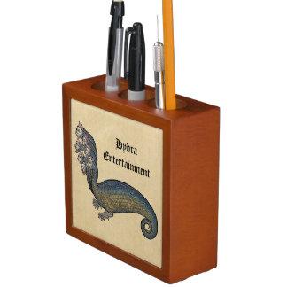 Hydra-Seedrache personalisiert Stifthalter