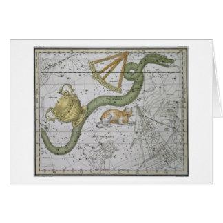 """Hydra, von """"einem himmlischen Atlas"""", Kneipe. im Karte"""