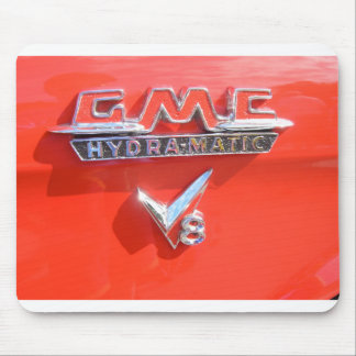 Hydramatisches Emblem GMCs Mauspad