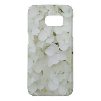 Hydrangea-Blumen-weiße elegante mit Blumenblüte