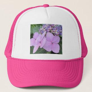 Hydrangea-lila blühende Blume Truckerkappe