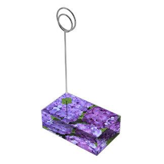 Hydrangea-Tabellen-Kartenhalter-Stand
