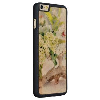 Hydrangeas Bella Watercolo iPhone 6 dünnes Carved® Maple iPhone 6 Plus Hülle