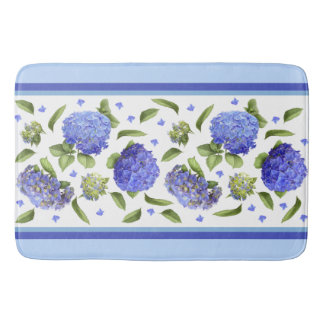Hydrangeas-blaue Bad-Matte Badematte