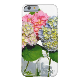 Hydrangeas und Weckglas Barely There iPhone 6 Hülle