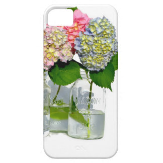 Hydrangeas und Weckglas Hülle Fürs iPhone 5