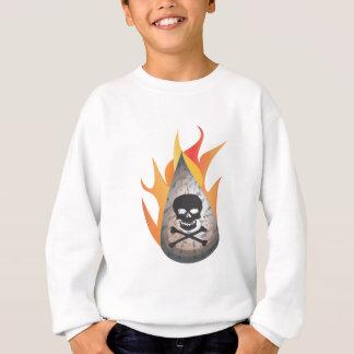 Hydro-frack Wasser auf Feuer Sweatshirt