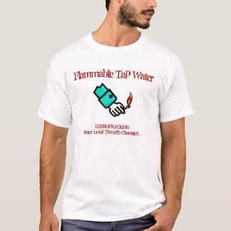 HYDROFRACKING - Brennbar stechen Sie Wasser an T-Shirt