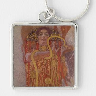 Hygeia durch Gustav Klimt Schlüsselanhänger