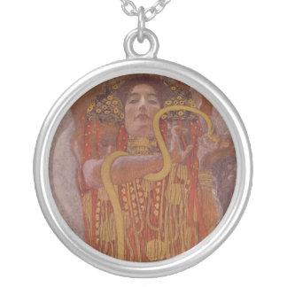 Hygeia durch Gustav Klimt Versilberte Kette