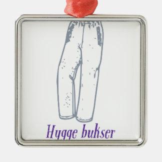 Hygge bukser: Feiern Sie alte bequeme Hosen! Silbernes Ornament