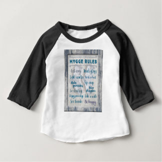 Hygge Regeln Baby T-shirt